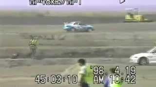 getlinkyoutube.com-国政久郎選手のオートマチックインプレッサ 1998年全日本ダートラ 三池
