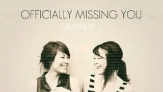 getlinkyoutube.com-Jayesslee - Officially Missing You (Studio) - Lyric Video - Cover by Tamia