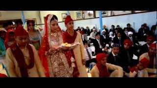 getlinkyoutube.com-Sikh Wedding Video - Birmingham (Dav and Raj)