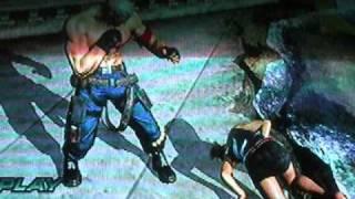 getlinkyoutube.com-Tekken 6 Ryona ~ Bryan Fury introduces the girls to his fist