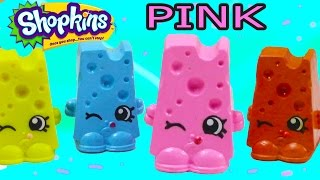 getlinkyoutube.com-Custom Shopkins Pink Cheese Chee Zee DIY Inspired Painted Craft Kawaii Toy Cookieswirlc