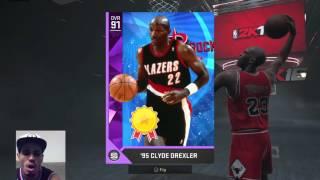 getlinkyoutube.com-NBA 2k16 AMETHYST CLYDE DREXLER PULL!!!