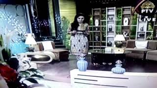 Hit PTV host without Dopatta in history