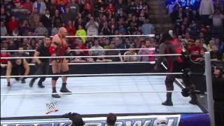 Ryback vs. Mark Henry: SmackDown, March 15, 2013