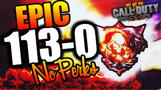 "getlinkyoutube.com-Epic 113-0 Flawless ""Nuclear"" w/ NO PERKS - Black Ops 3 Gameplay"