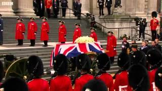 getlinkyoutube.com-2013, апрель - Похороны Маргарет Тэтчер