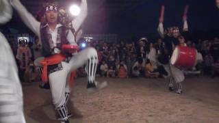 getlinkyoutube.com-屋慶名エイサー@櫓ステージ/橋の下世界音楽祭 2016