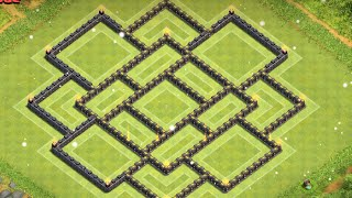 Clash of Clans: TH 9 Farming Base ll Mid-December Edition