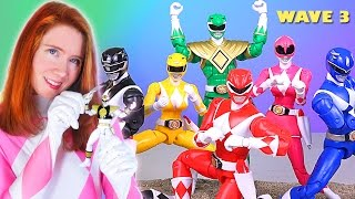 Power Rangers Legacy Figures Wave 3 Review!