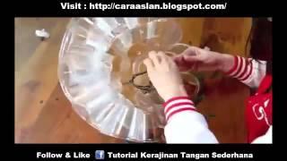 getlinkyoutube.com-Cara Membuat Lampu Hias Unik Dari Bekas Gelas Botol Aqua
