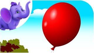 getlinkyoutube.com-I Lost My Balloon - Nursery Rhyme with Karaoke