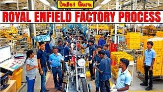 #14 Royal Enfield Manufacturing Process Plant Chennai / Full bullet making process /RE Plant Channai