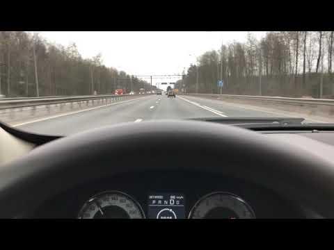 ACC Jaguar XF (активный круиз-контроль)