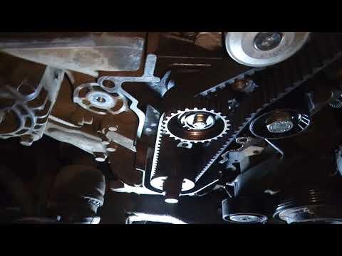 Замена ремня грм Saab 9-3 1.9tid/Opel Zafira B 1.9tid