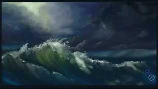 getlinkyoutube.com-How To Quickly Paint a Stormy Ocean in Artrage Studio Pro