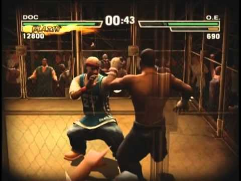 Def Jam Fight For NY : Redman vs Omar Epps Cage Match