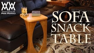 getlinkyoutube.com-Sofa snack table. Great for your living room!