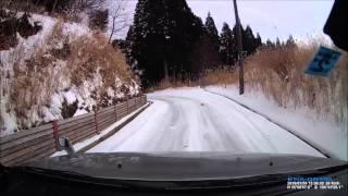 エスクード  初の雪上走行 2016 01 24