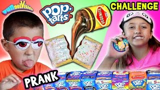 getlinkyoutube.com-VEGEMITE POP TART PRANK CHALLENGE w/ Lex & Mike (FUNnel Vision pt. 2)