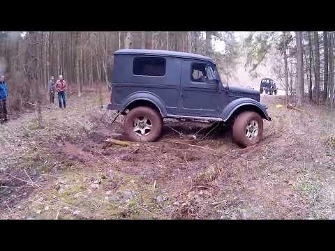 НИВА 4х4 ГАЗ 69 Suzuki Samurai