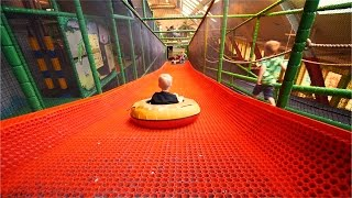 getlinkyoutube.com-[Part 2/4] Indoor Playground Fun for Kids and Family at Lek & Bus Nacka