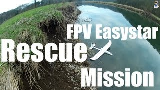 getlinkyoutube.com-Easystar II - Rescue Mission after ditching | FPV Crash