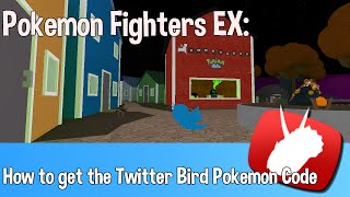 "getlinkyoutube.com-✓ Roblox - Pokemon Fighters EX - How to get the ""Twitter Bird"" Pokemon Code"