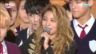 getlinkyoutube.com-151007 @ Show Champion AILEE X SEVENTEEN MOMENT!