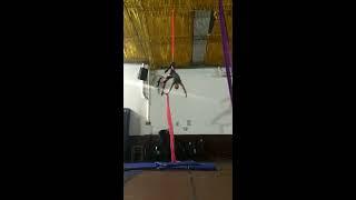 Aerial Silks Carla Siñuka Martinis   Categoría Profesional Adulto Femenino   TAAT Norte 2017