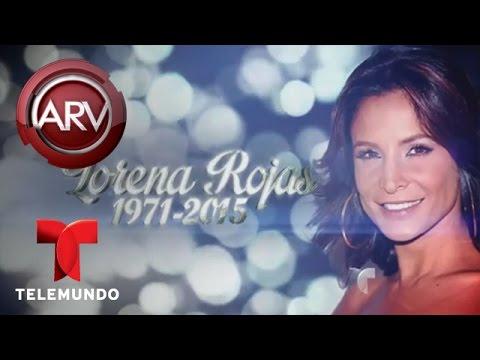 Al Rojo Vivo | Celebridades comparten pésames por Lorena Rojas| Telemundo ARV
