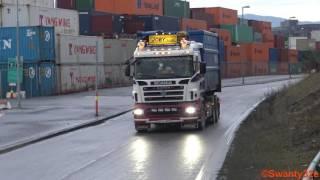 getlinkyoutube.com-4K| Scania R500 6x4 V8 Sound