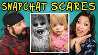 getlinkyoutube.com-PARENTS REACT TO SNAPCHAT SCARES (SCARING KIDS WITH FILTERS)
