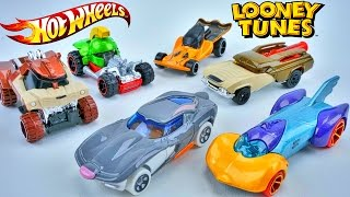 HOT WHEELS BUGS BUNNY LOONEY TUNES CHARACTER CARS RACE ELIMINATION RACTRACK