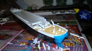 getlinkyoutube.com-How We Build Revell R.M.S. Titanic 1:400