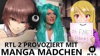 "getlinkyoutube.com-RTLII provoziert mit ""MANGA MÄDCHEN"""