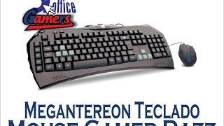 getlinkyoutube.com-Megantereon Teclado + Mouse Gamer Dazz DToffice