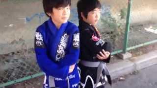 getlinkyoutube.com-【小学生】小学4年生と3年生のファイター【総合格闘技・MMA】