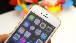 Kiphone Golden i5s EX vs iPhone 5s- Which one is real?