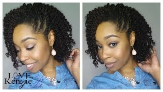 getlinkyoutube.com-Natural Hair | Twistout Hairstyle | feat. LoveKenzieB