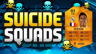 getlinkyoutube.com-FIFA 16 SUICIDE SQUADS!!! MAN OF THE MATCH VARANE!!! Orange Varane Squad Builder Duel