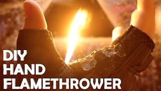getlinkyoutube.com-Make a Wrist Flamethrower With Only a Lighter! - AMAZING DIY Lighter Hack!!!