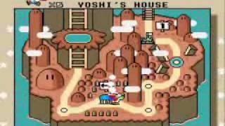 getlinkyoutube.com-Super Mario World SNES - Complete map