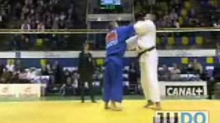 getlinkyoutube.com-JUDO 2008 World Open Championships: Yasuyuki Muneta 棟田 康幸 (JPN) - Daniel Hernandes (BRA)