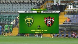 getlinkyoutube.com-MŠK Žilina -  FC Spartak Trnava 3:0 (0:0)