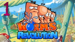 getlinkyoutube.com-Worms Revolution with SeaNanners, Chilled, Diction - Part 1