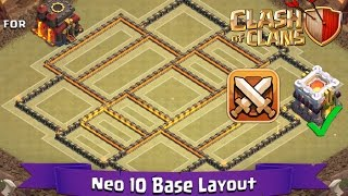 getlinkyoutube.com-Clash Of Clans: TH10 | BEST Clan War Base Layout (Latest TH11 Update) - Neo 10