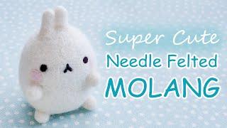 getlinkyoutube.com-Needle Felted Molang Tutorial - How to