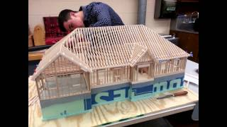 getlinkyoutube.com-Building The 1/24 Scale Architectural Model