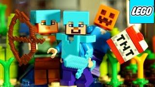 getlinkyoutube.com-Лего Майнкрафт 2015 + Мультики. Коллекция. Обзор на русском языке. Lego Minecraft 2015