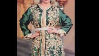 getlinkyoutube.com-Caftan & takchita 2016  جديد القفطان المغربي